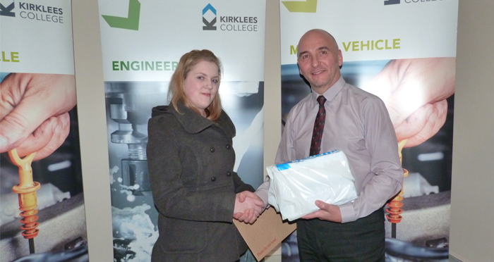 Reliance Apprentice Receives  Outstanding Achievement Award