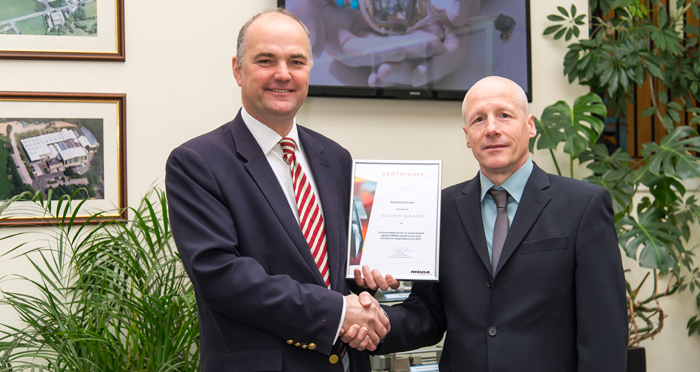 Reliance Precision Receives Supplier Award from MBDA