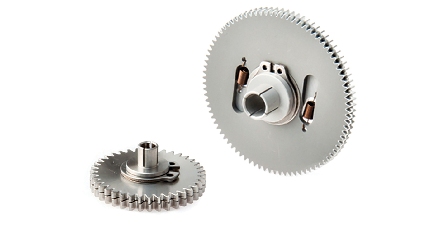 Reliance Anti-Backlash Gears Maintain High Accuracy Positional Feedback