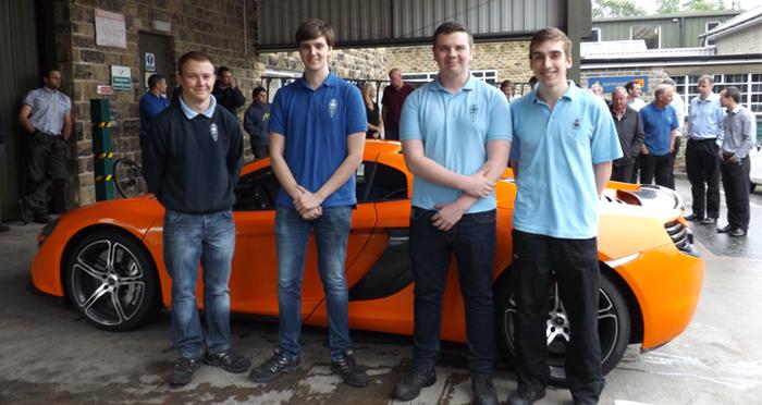 McLaren Director Inspires Reliance