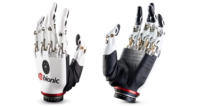 Miniature Actuation Solutions for Steeper's bebionic Hand