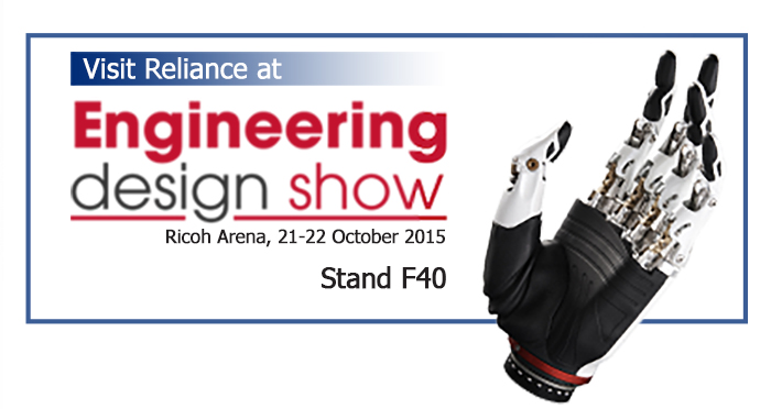 Reliance to Exhibit at the Engineering Design Show 2015