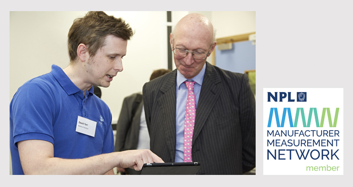 Head of Metrology Meets Lord Prior at NPL Event