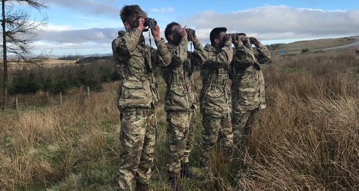 Apprentices Undertake Army Challenge