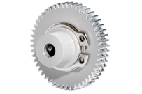 Image showing an assembled anti-backlash gear