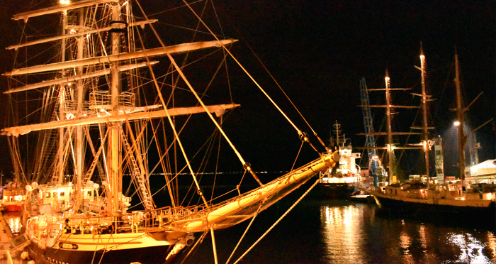 Reliance Engineer undertakes Tall Ship Adventure