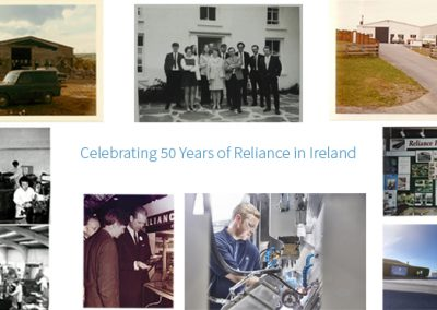 Reliance Ireland Marks 50th Anniversary