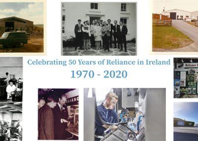 Reliance Ireland Marks 50th Anniversary